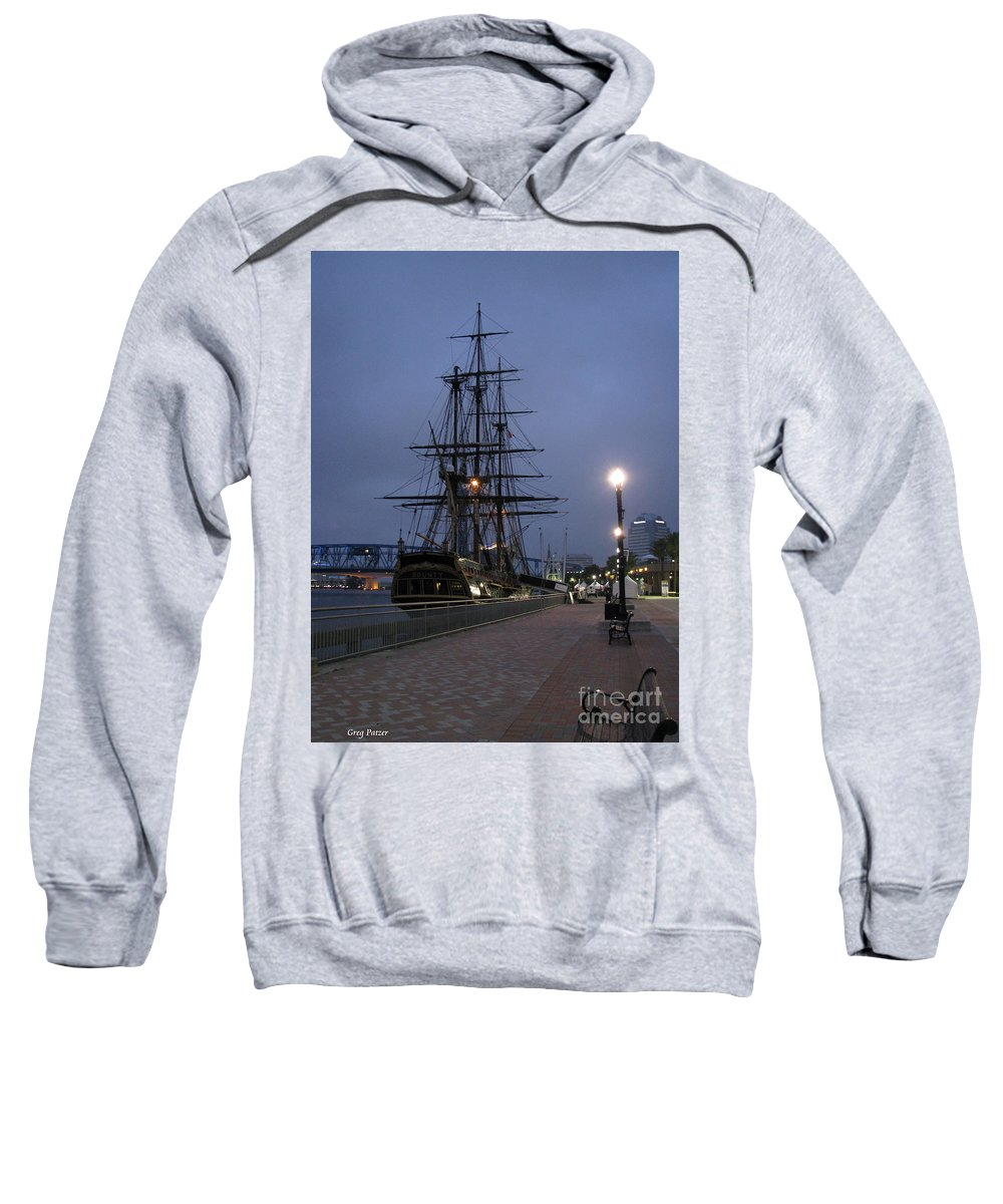 Patzer Sweatshirt featuring the photograph Bounty by Greg Patzer