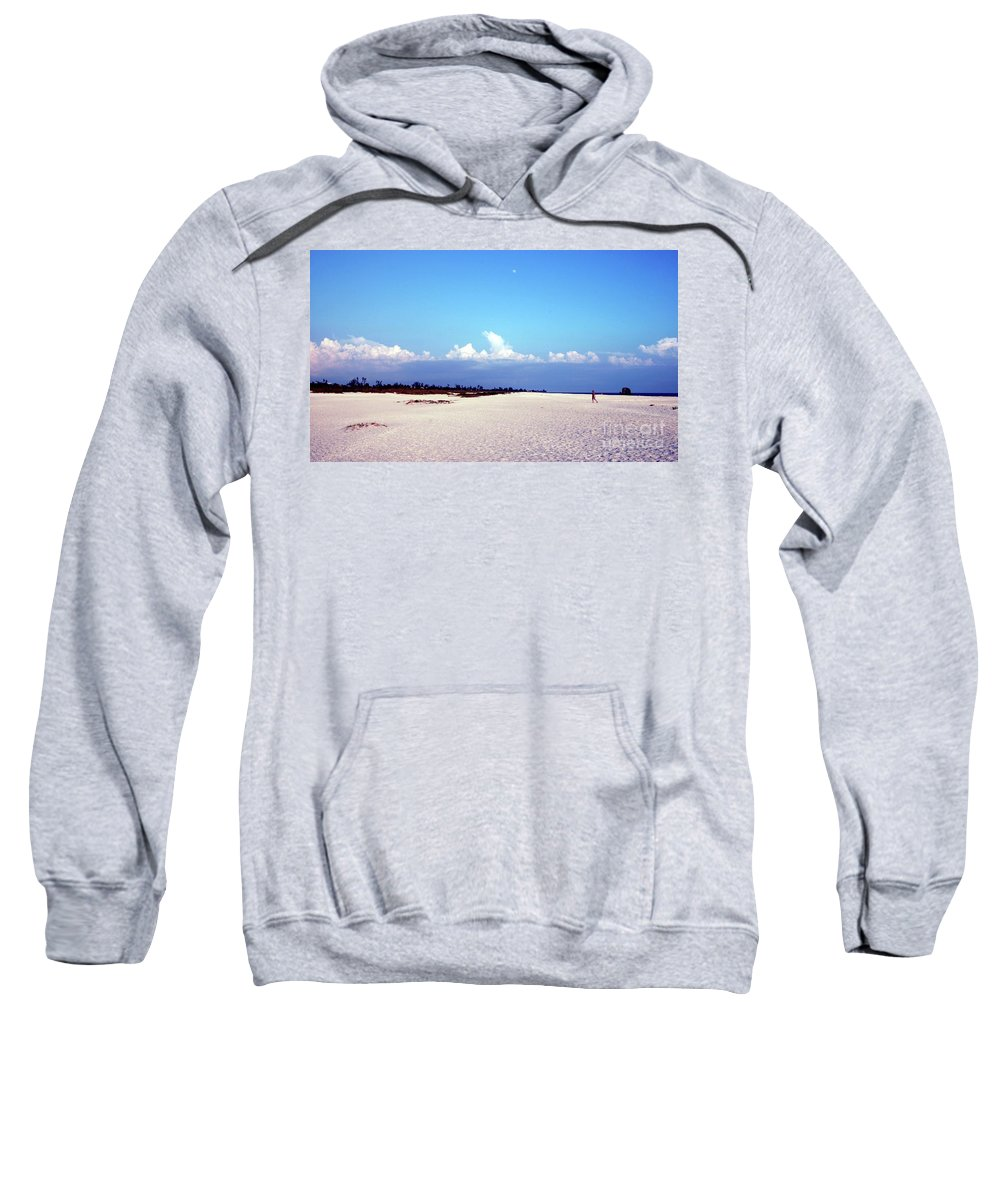 Bowman's Beach Sweatshirt featuring the photograph Bowman's Beach by Kathleen Struckle