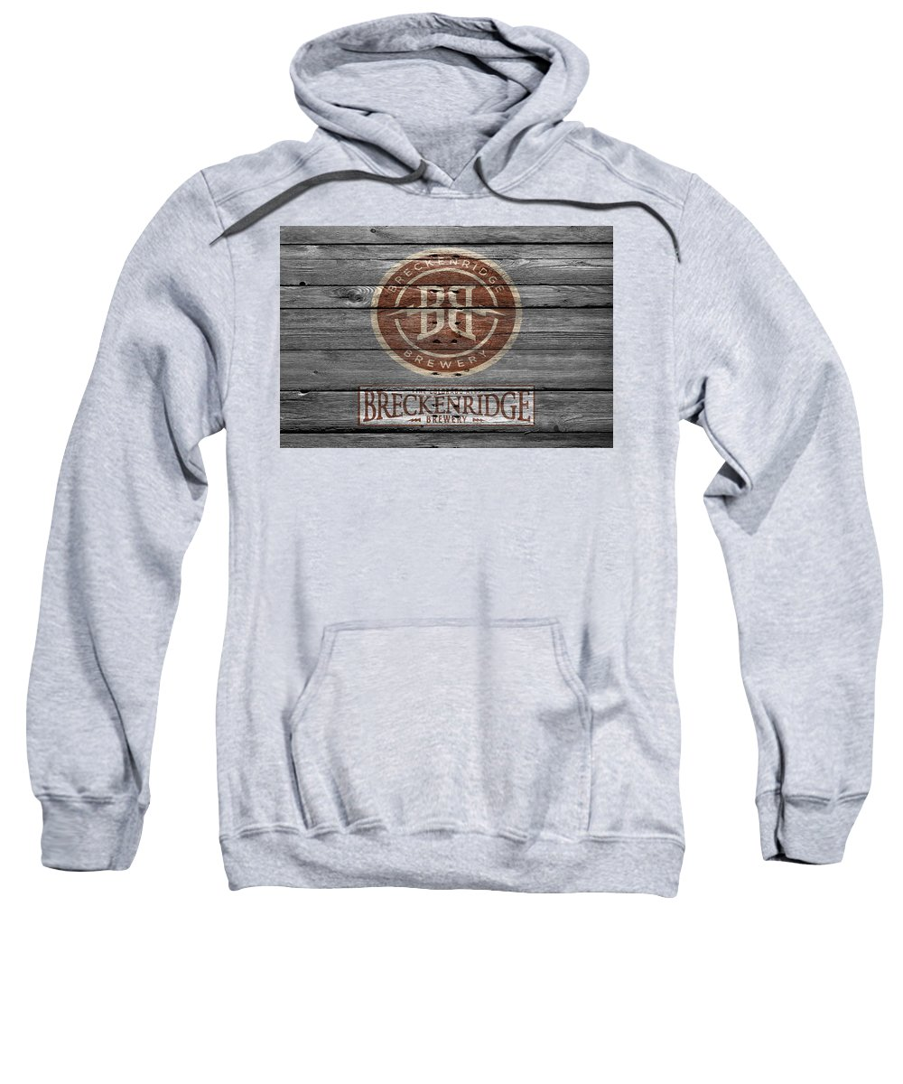 Breckenridge Brewery Sweatshirt featuring the photograph Breckenridge Brewery by Joe Hamilton