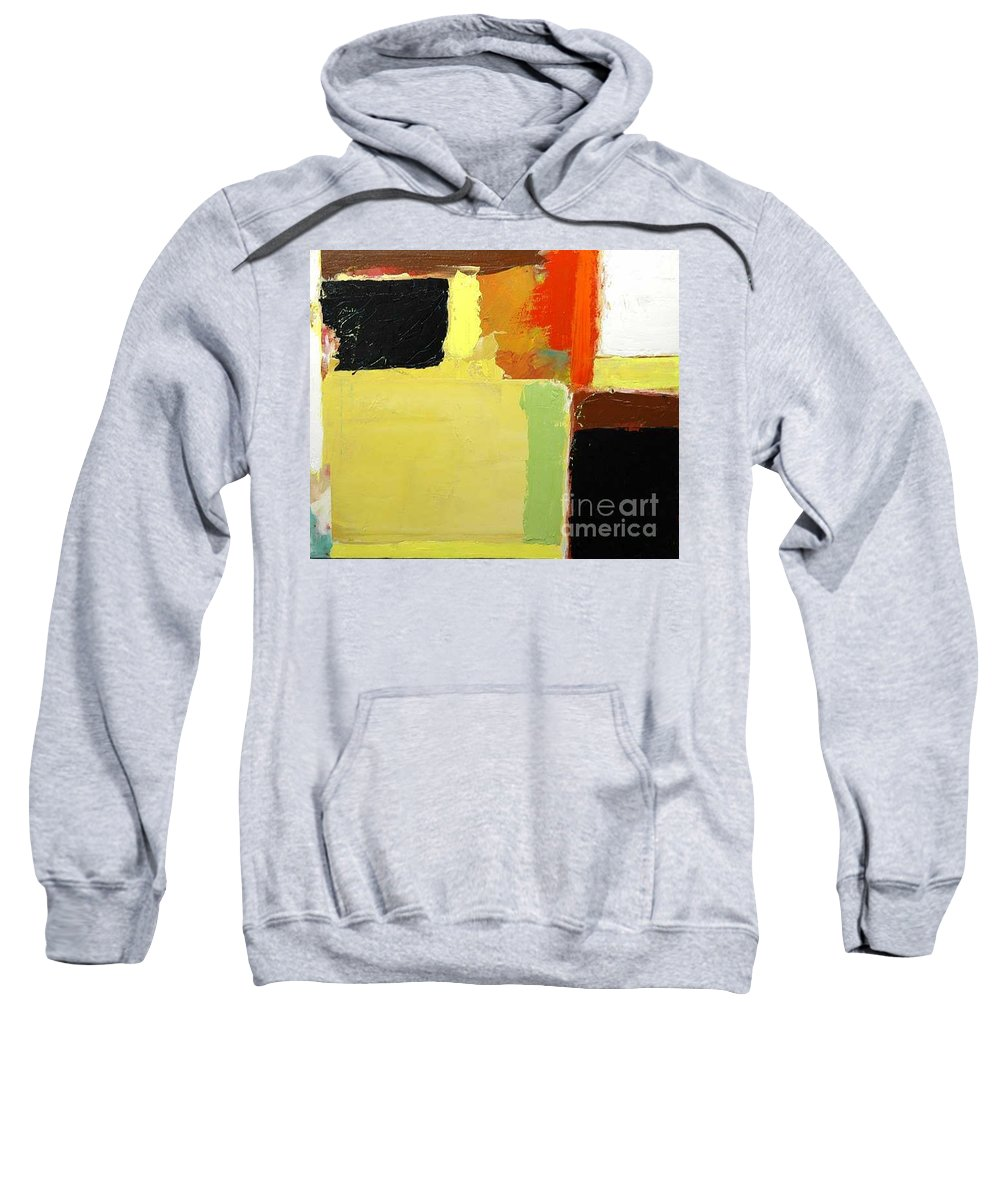 Landscape Sweatshirt featuring the painting Brisbane by Allan P Friedlander