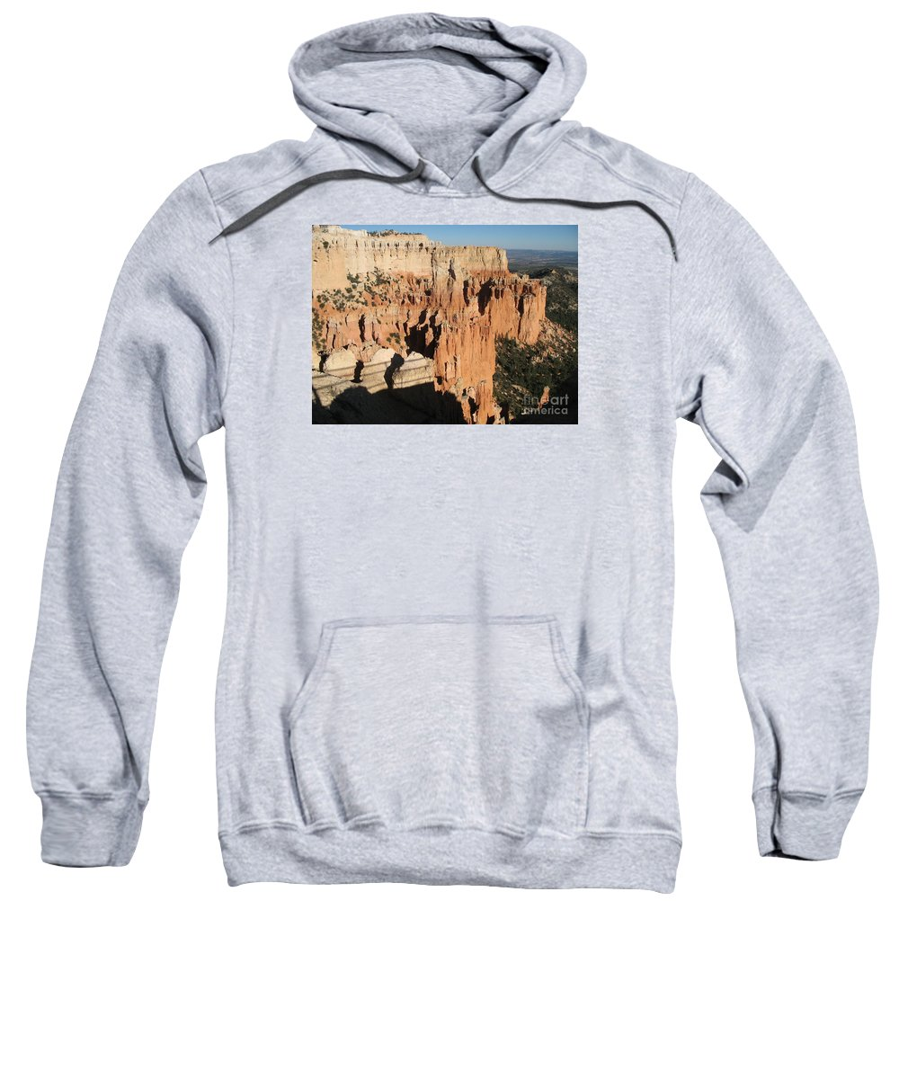 Rocks Sweatshirt featuring the photograph Bryce Canyon Hoodoos by Christiane Schulze Art And Photography