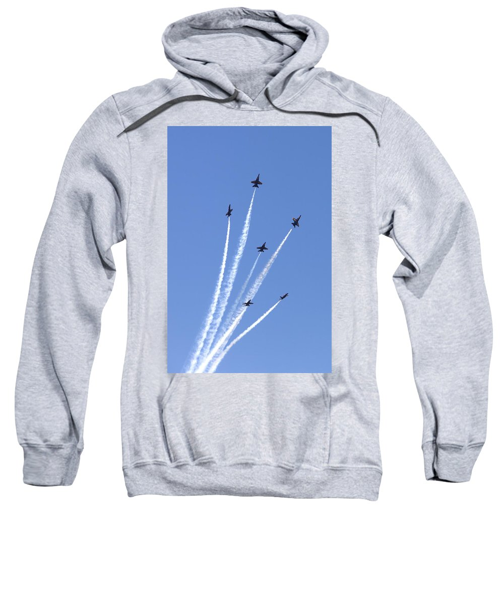 5168 Sweatshirt featuring the photograph Bursting Forth by Gordon Elwell