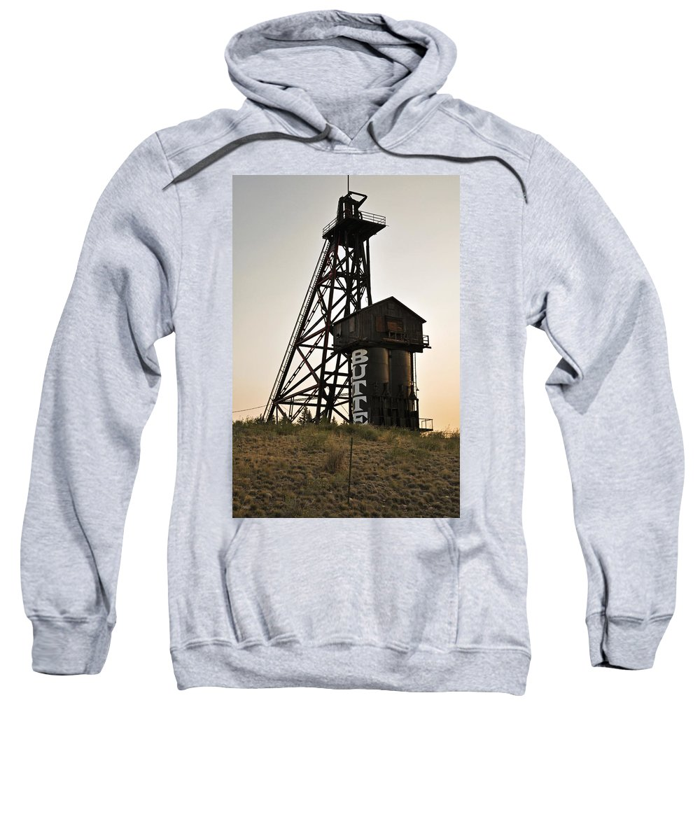 Butte Sweatshirt featuring the photograph Butte Montana by Image Takers Photography LLC - Laura Morgan