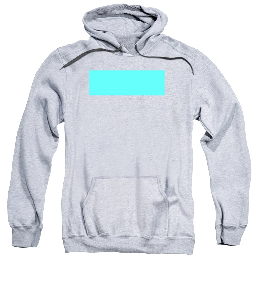 Abstract Sweatshirt featuring the digital art C.1.102-255-252.3x1 by Gareth Lewis
