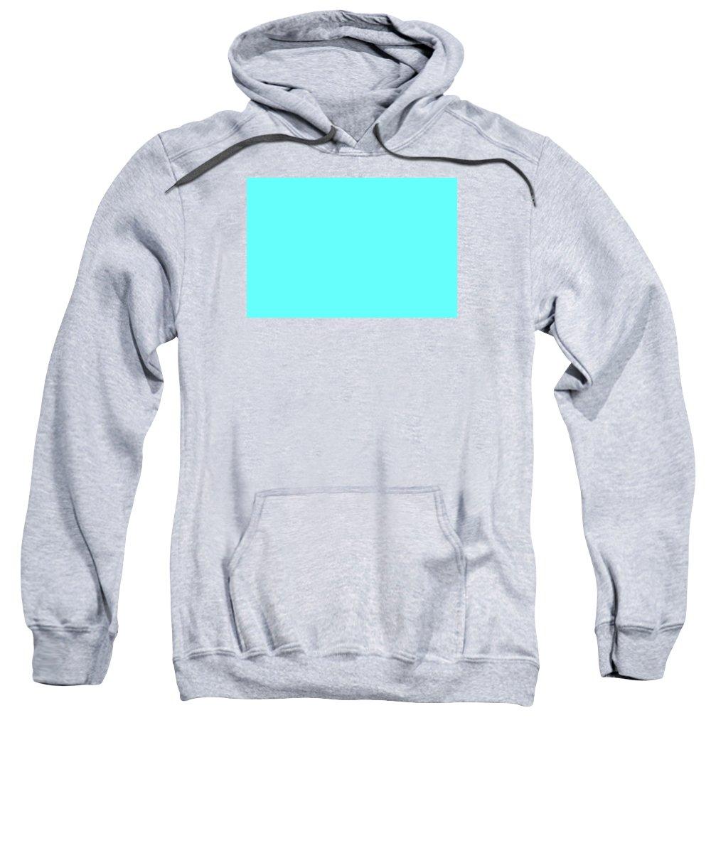 Abstract Sweatshirt featuring the digital art C.1.102-255-252.3x2 by Gareth Lewis