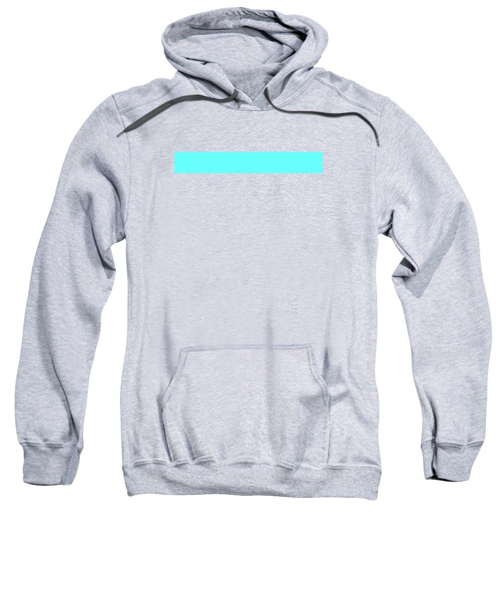 Abstract Sweatshirt featuring the digital art C.1.102-255-252.7x1 by Gareth Lewis