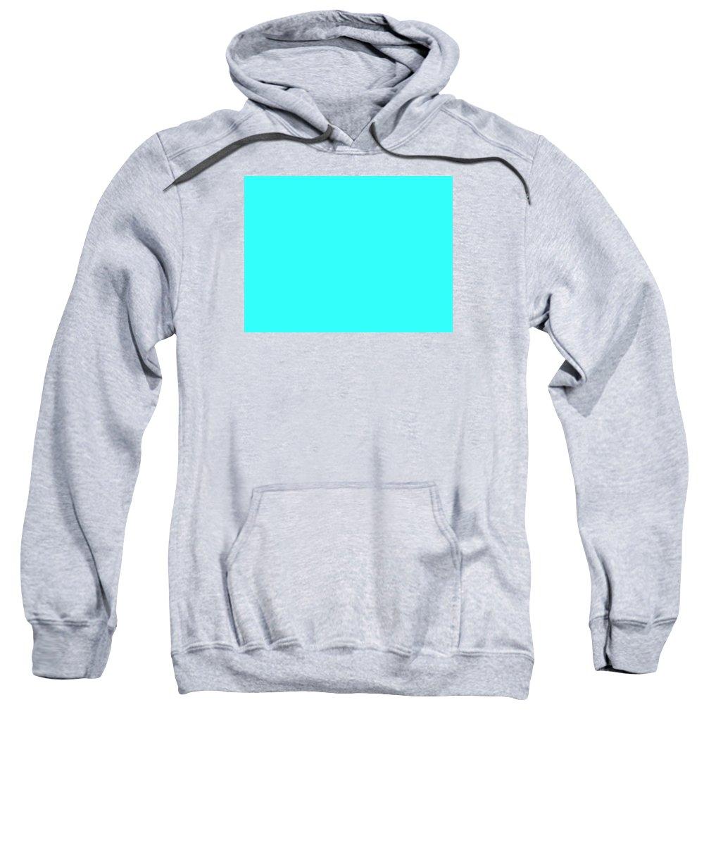 Abstract Sweatshirt featuring the digital art C.1.51-255-251.4x3 by Gareth Lewis