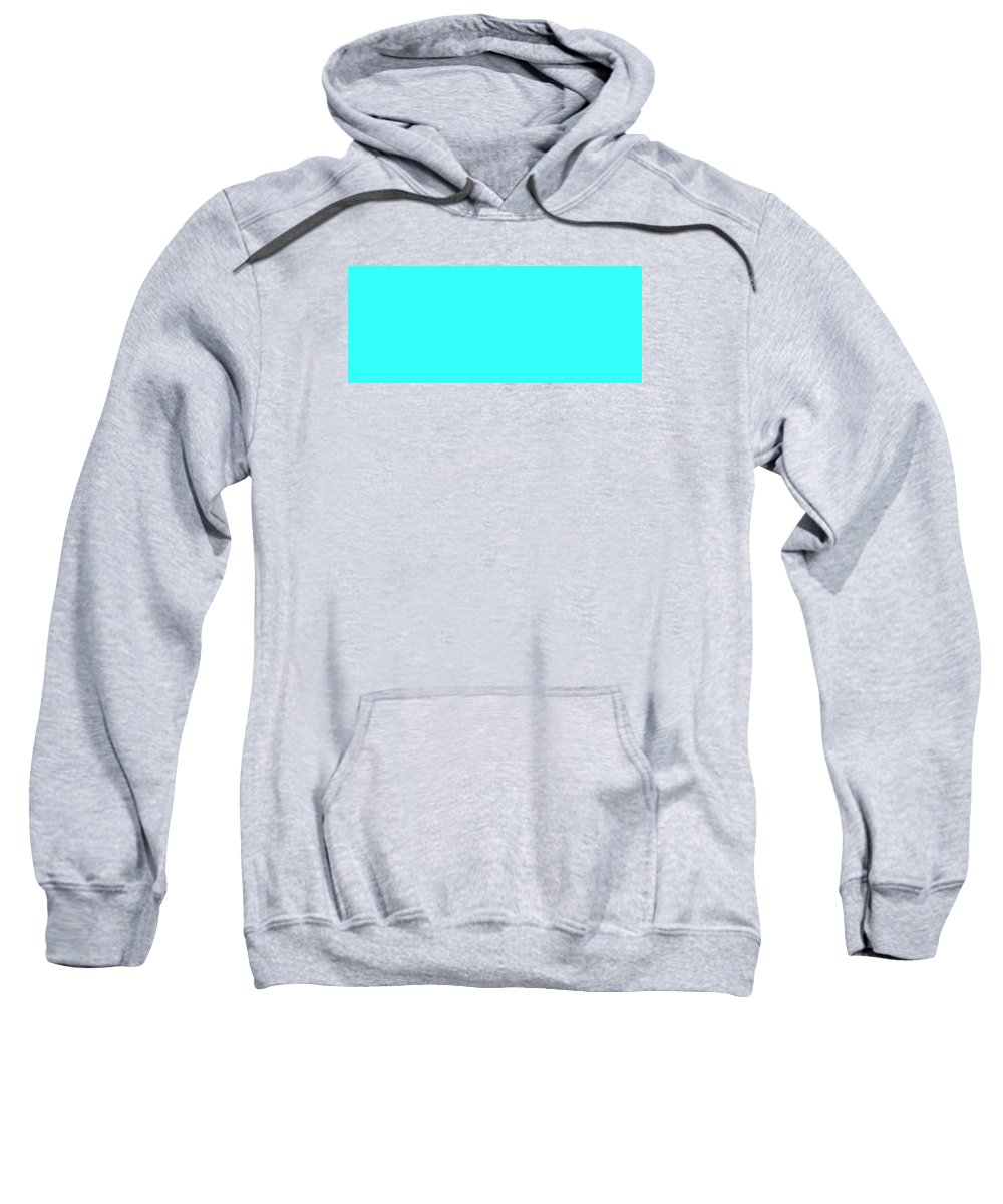 Abstract Sweatshirt featuring the digital art C.1.51-255-251.5x2 by Gareth Lewis