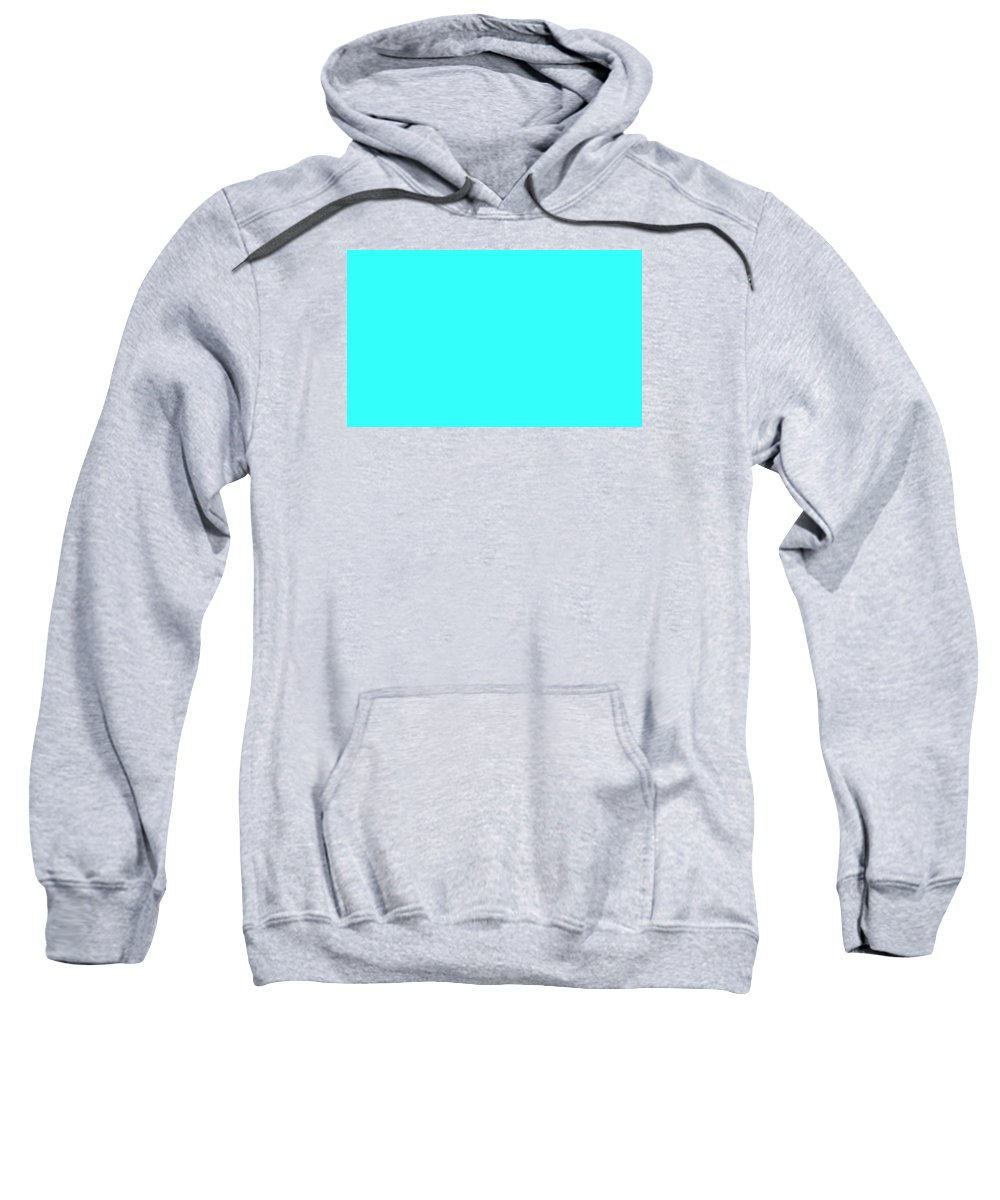 Abstract Sweatshirt featuring the digital art C.1.51-255-251.5x3 by Gareth Lewis