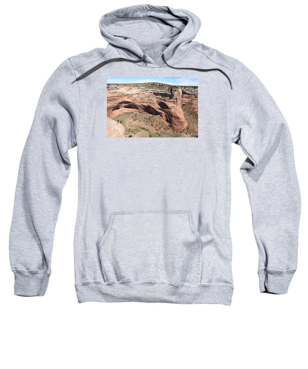 Canyon Sweatshirt featuring the photograph Canyon De Chelly I by Christiane Schulze Art And Photography