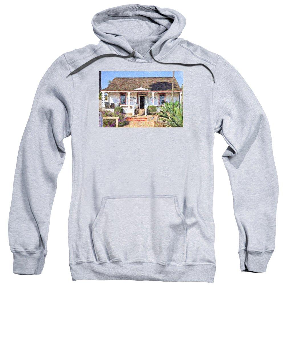 Casa Pedrorena De Altamirano Sweatshirt featuring the digital art Casa De Pedrorena De Altamirano by Liz Leyden