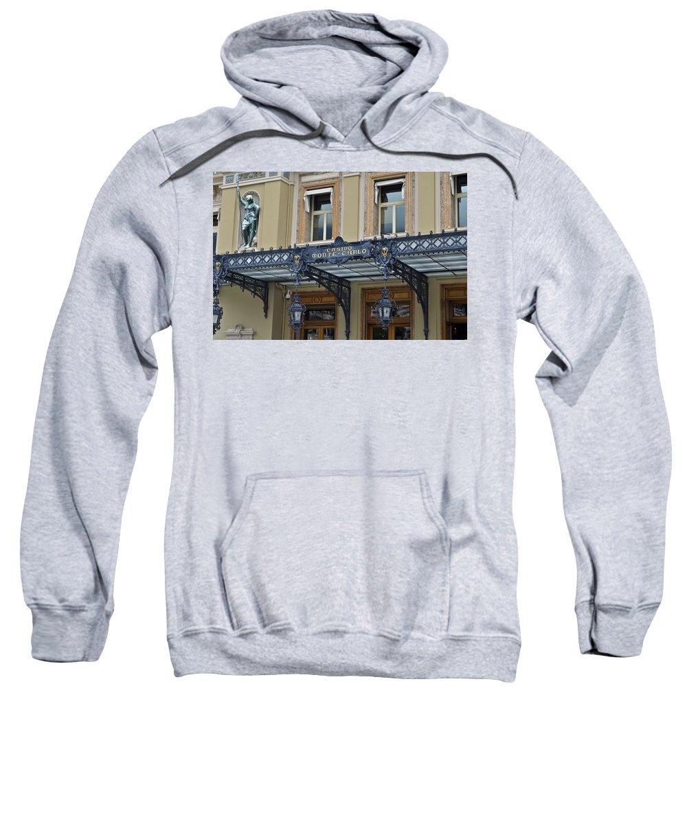 Casino Sweatshirt featuring the photograph Casino Monte Carlo by Allen Sheffield