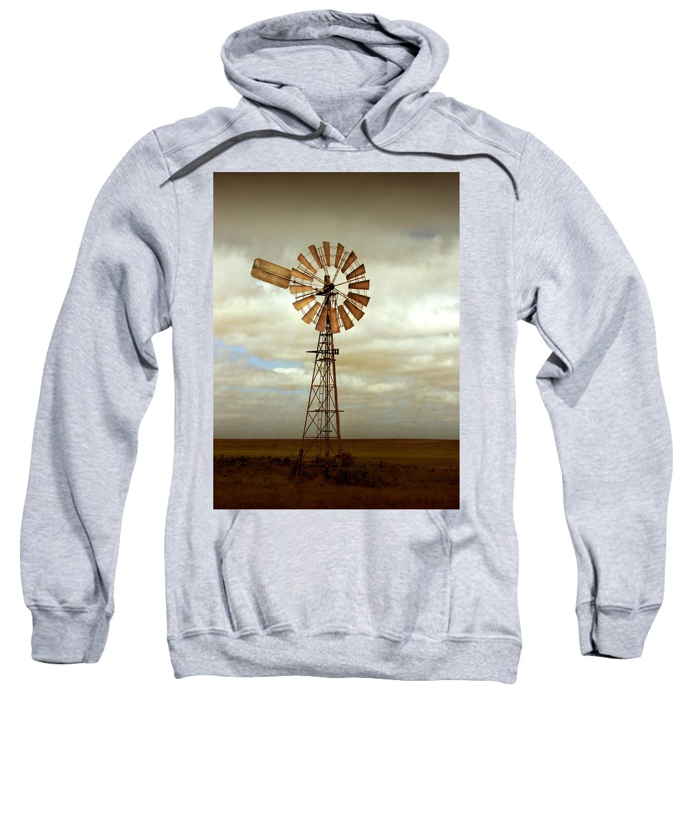Windmill Sweatshirt featuring the photograph Catch The Wind by Holly Kempe