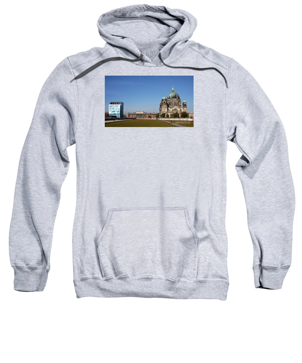 Cathedral Sweatshirt featuring the photograph Cathedral And Humboldt Box by Christiane Schulze Art And Photography