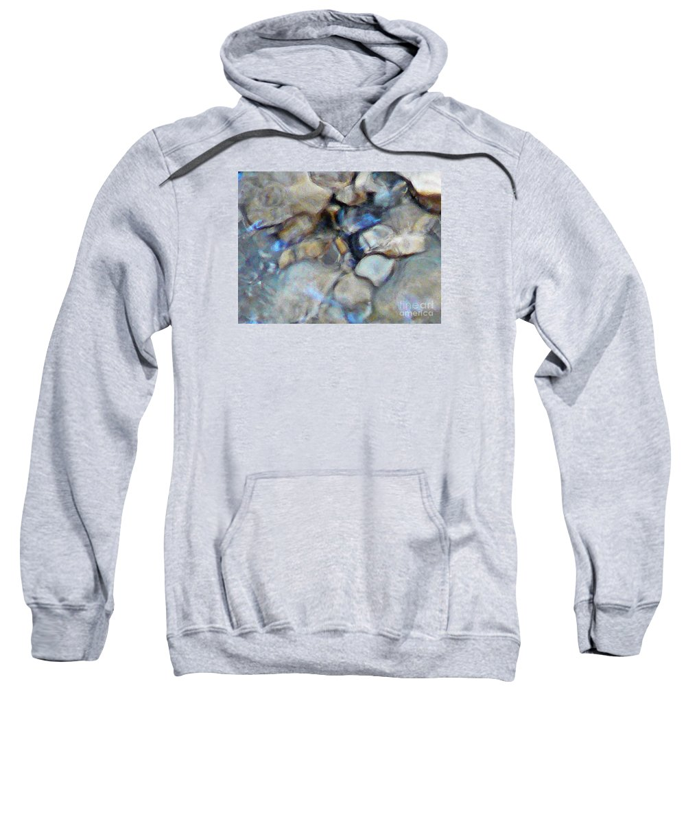 Water Reflection Sweatshirt featuring the photograph Cave Of Brutes by Chris Sotiriadis