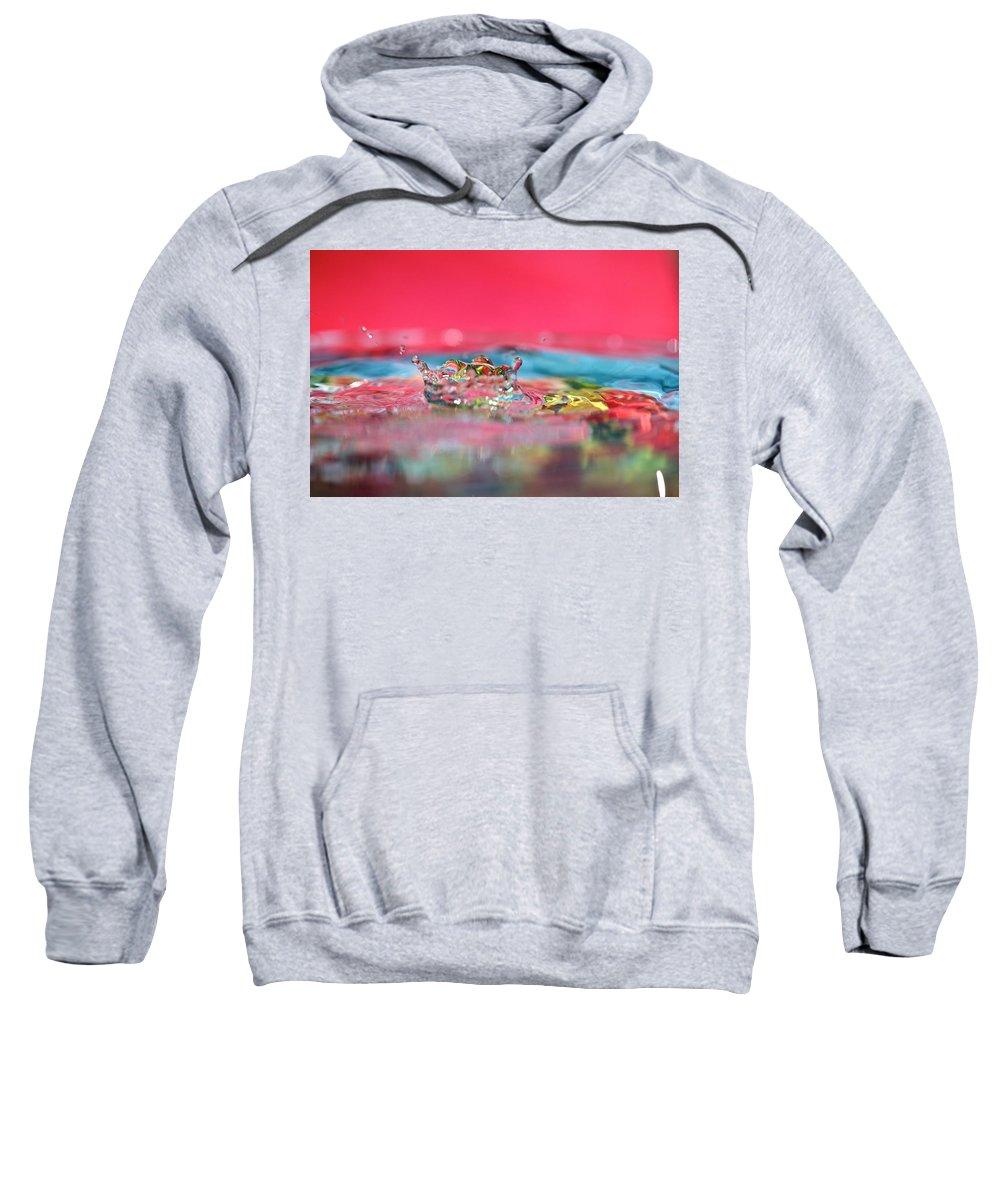 Celebration Sweatshirt featuring the photograph Celebration by Lisa Knechtel