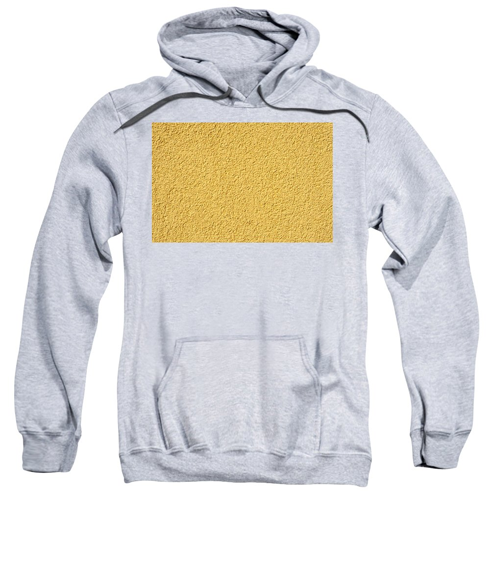 Abstract Sweatshirt featuring the photograph Cement - Stucco Wall Texture by Alain De Maximy