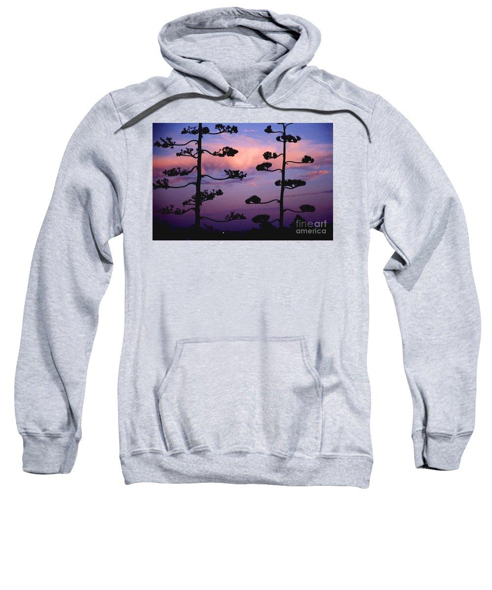 Sunset Sweatshirt featuring the photograph Century Sunset by Alan Thwaites