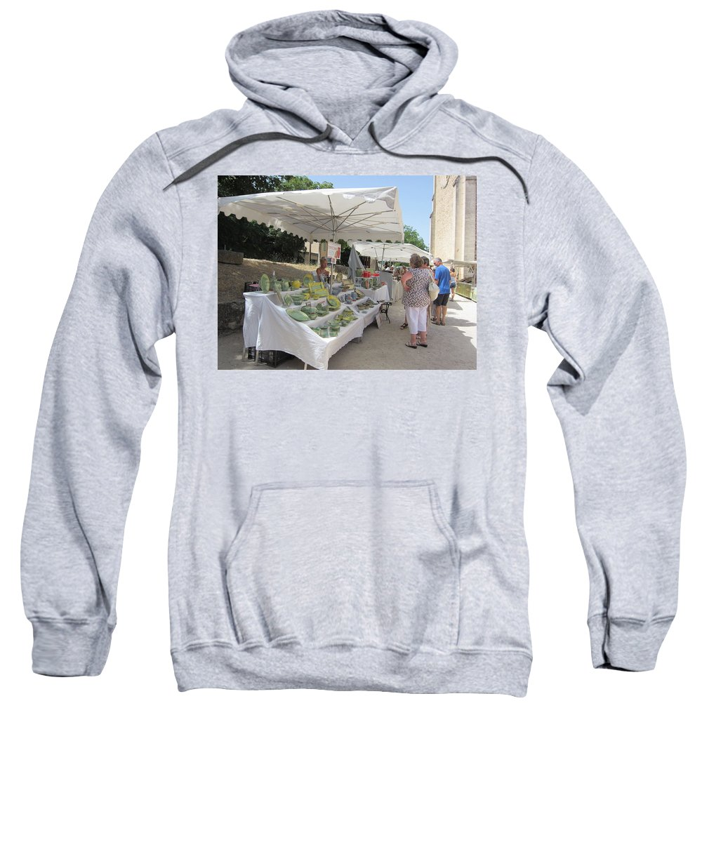Ceramic Sweatshirt featuring the photograph Ceramics For Sale by Pema Hou
