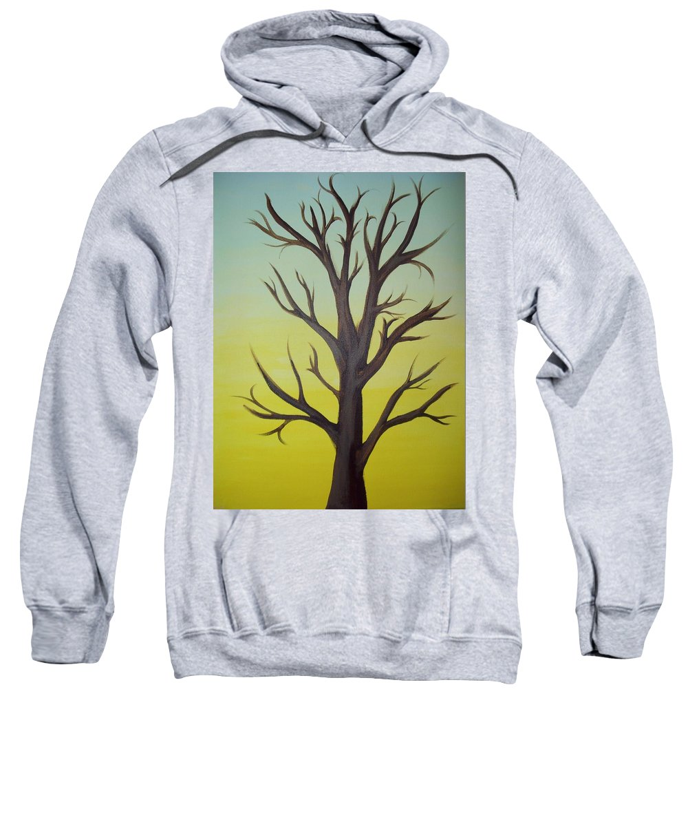 Acrylic Painting Sweatshirt featuring the painting Change Of Season by Gerard Provost