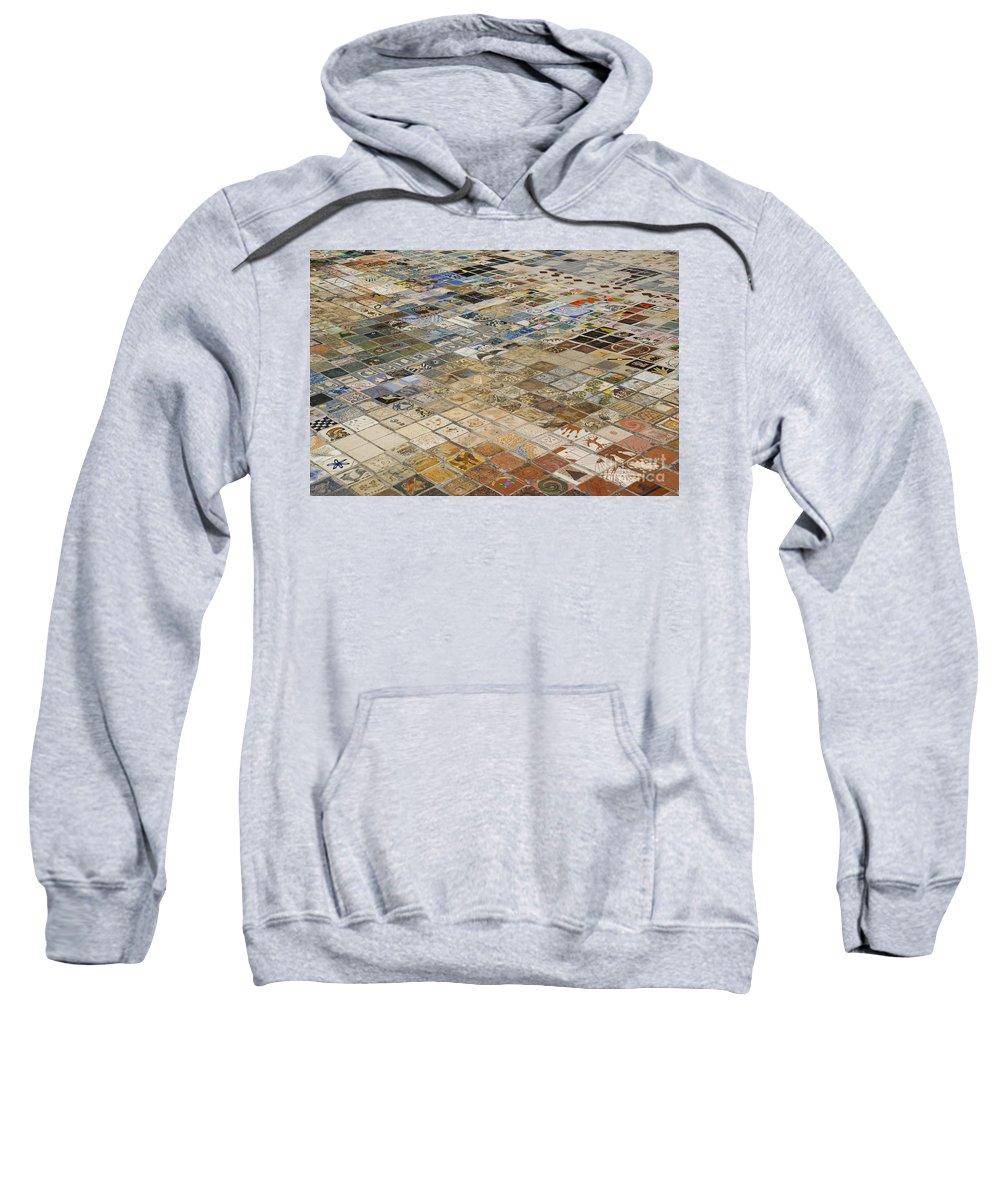Criccieth Sweatshirt featuring the photograph Chapel Of Art by Anne Gilbert