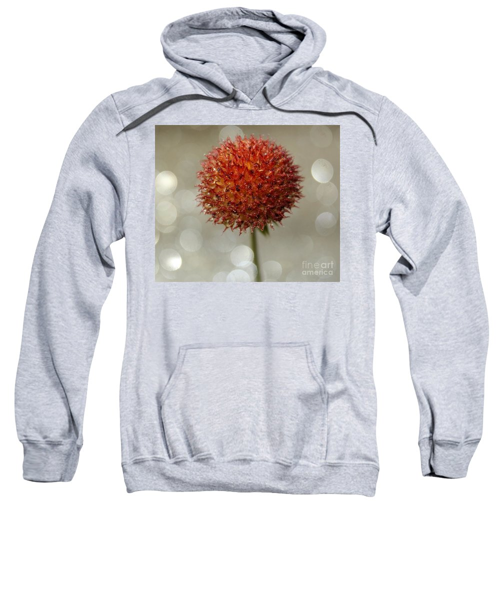 Weed Sweatshirt featuring the photograph Charming Weed by Krissy Katsimbras