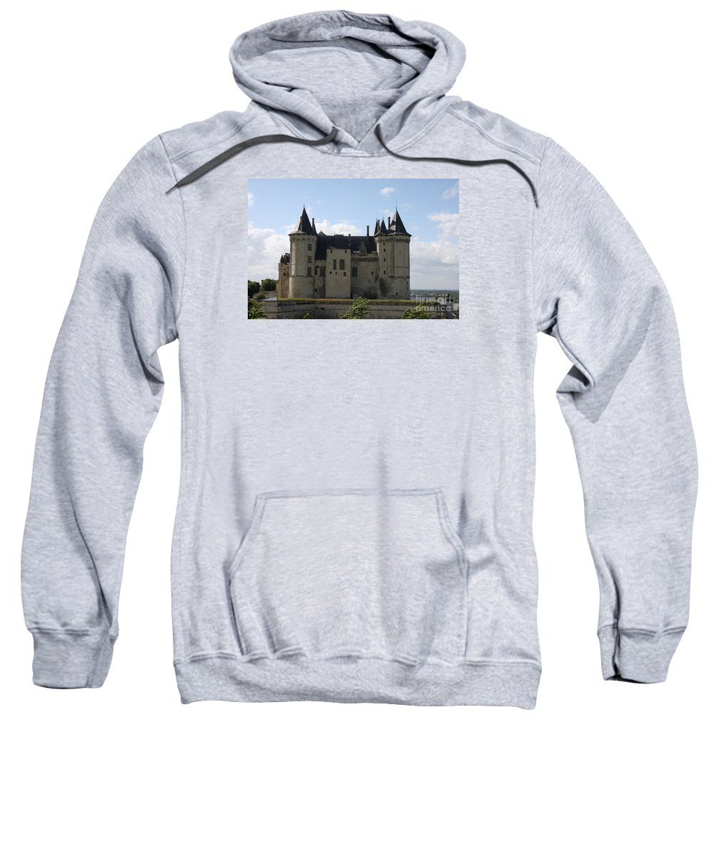 Castle Sweatshirt featuring the photograph Chateau Saumur - France by Christiane Schulze Art And Photography
