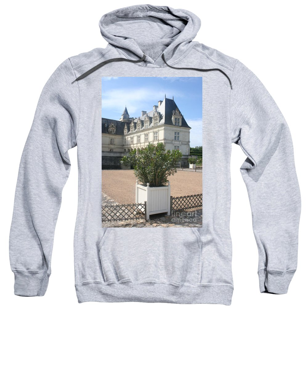 Palace Sweatshirt featuring the photograph Chateau Villandry View by Christiane Schulze Art And Photography