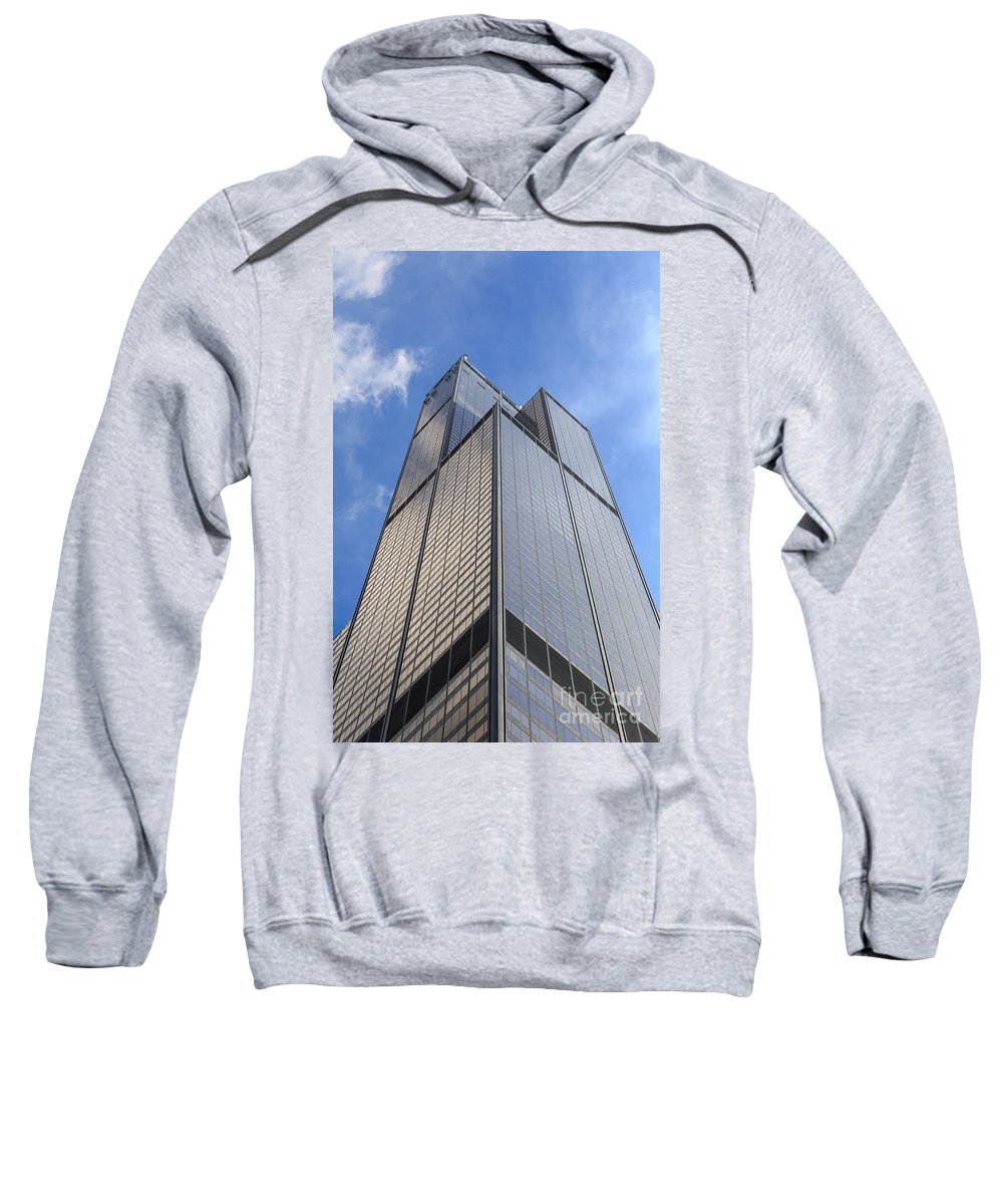 2014 Sweatshirt featuring the photograph Willis Tower by Jannis Werner