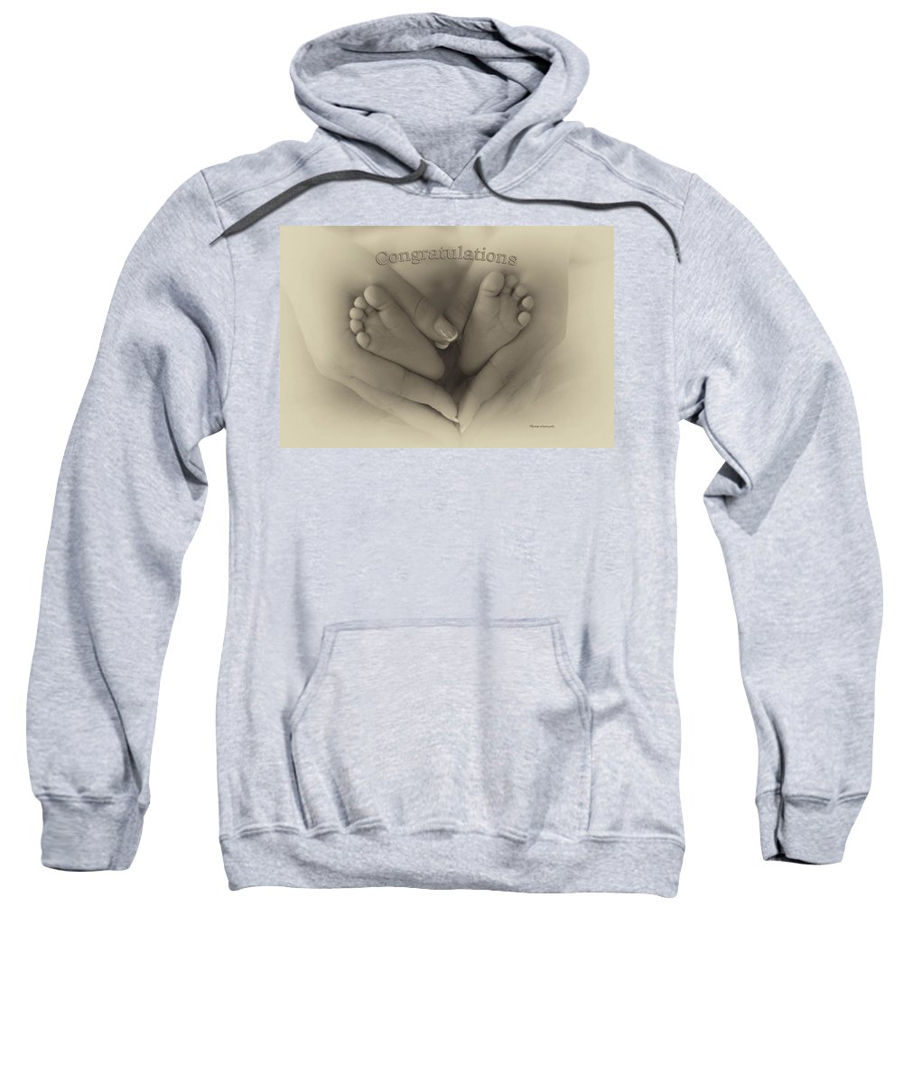 Love Sweatshirt featuring the photograph Child Birth Congratulations by Thomas Woolworth