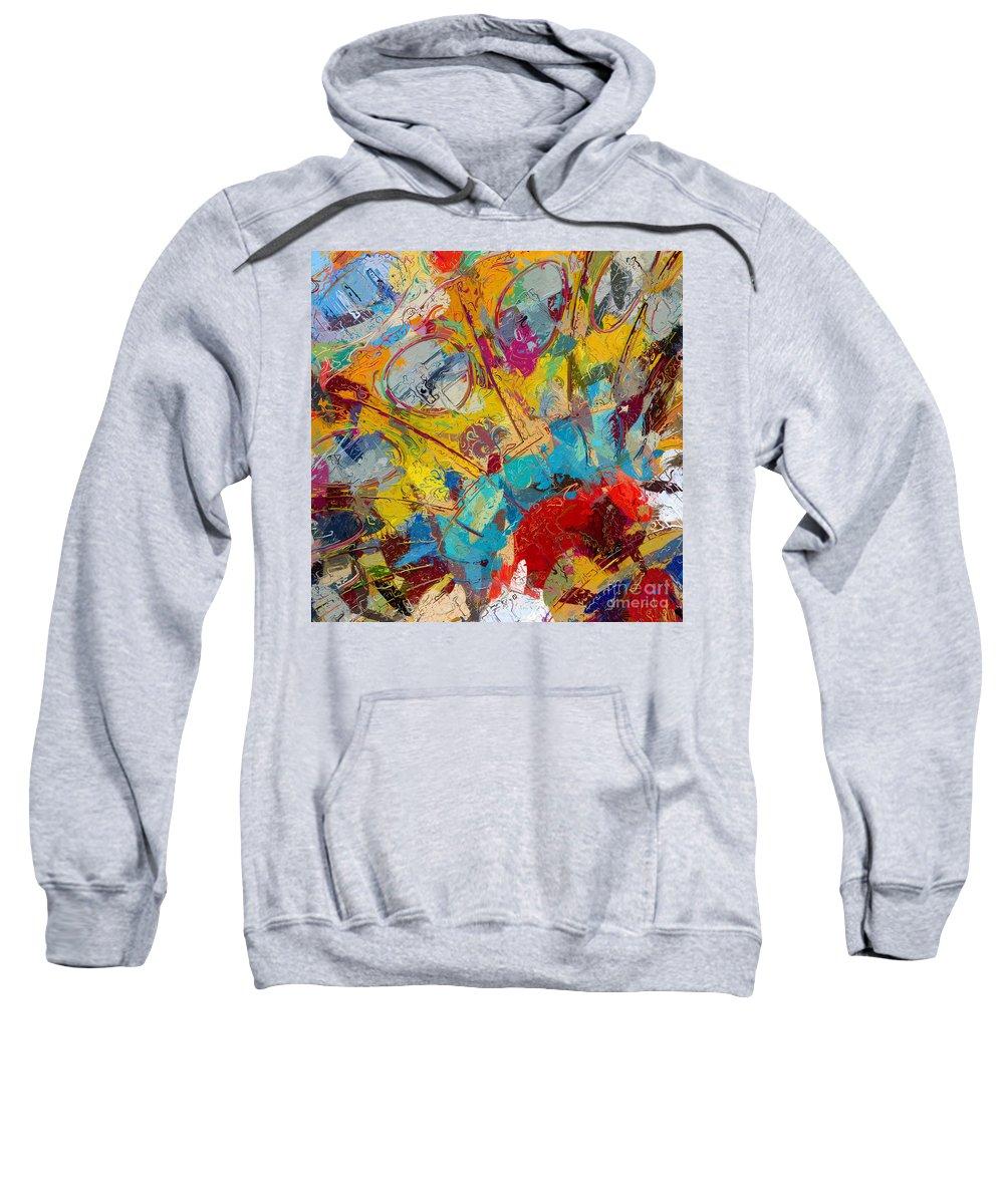 Boardwalk Sweatshirt featuring the photograph Childhood Memories by Heidi Smith