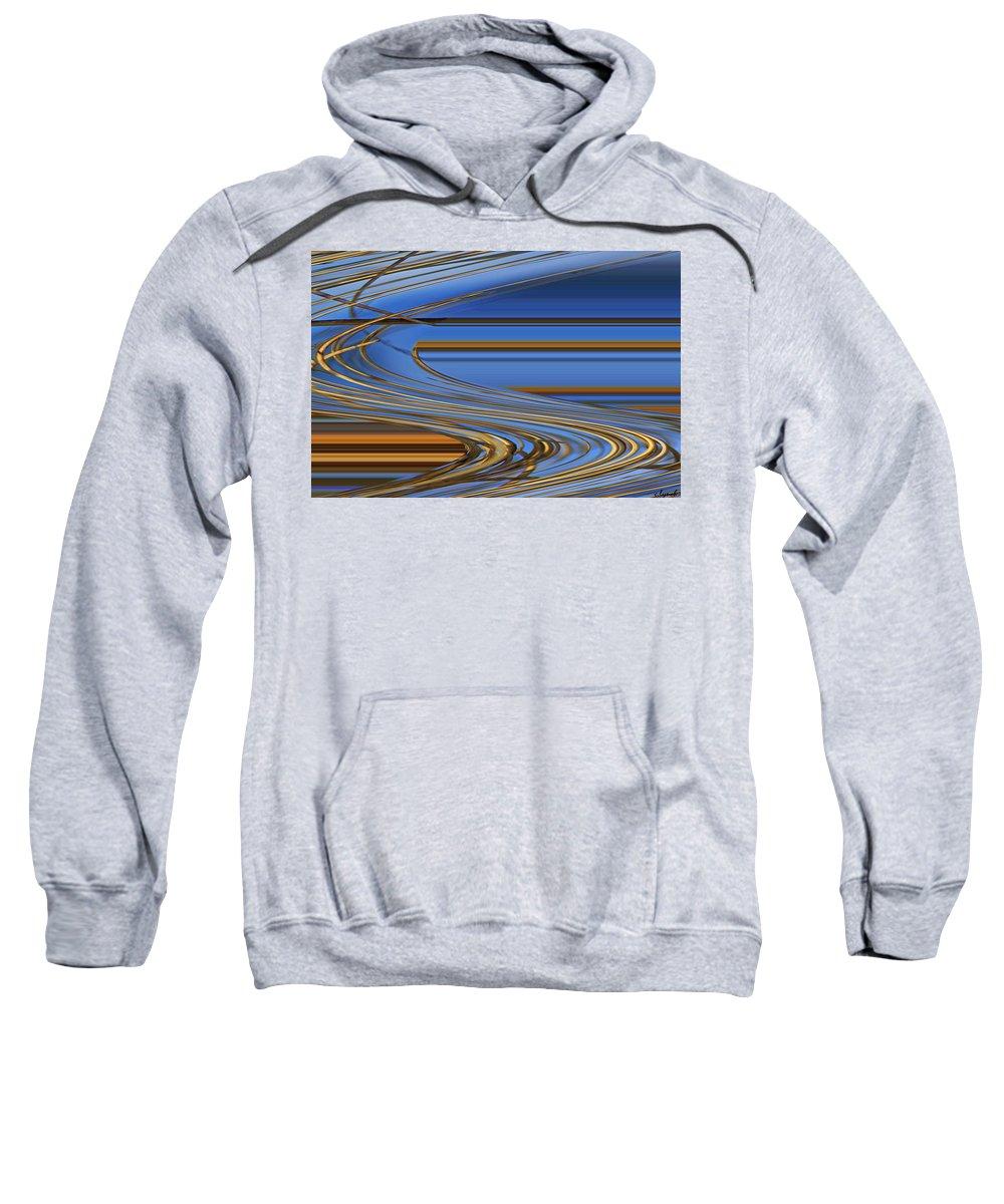 Chocolate Sweatshirt featuring the digital art Chocolate by Carol Lynch