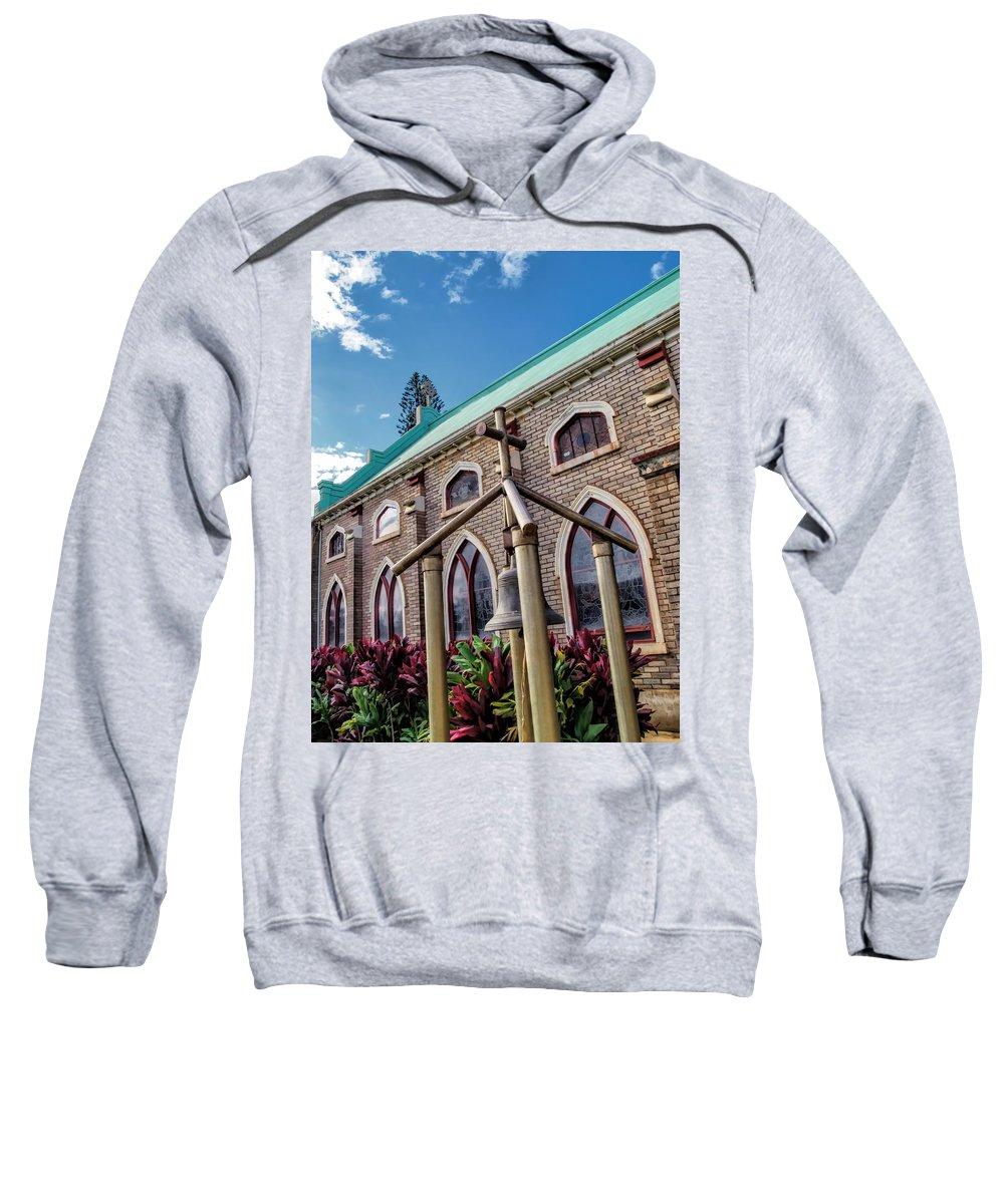 Church Sweatshirt featuring the photograph Church 5 by Dawn Eshelman