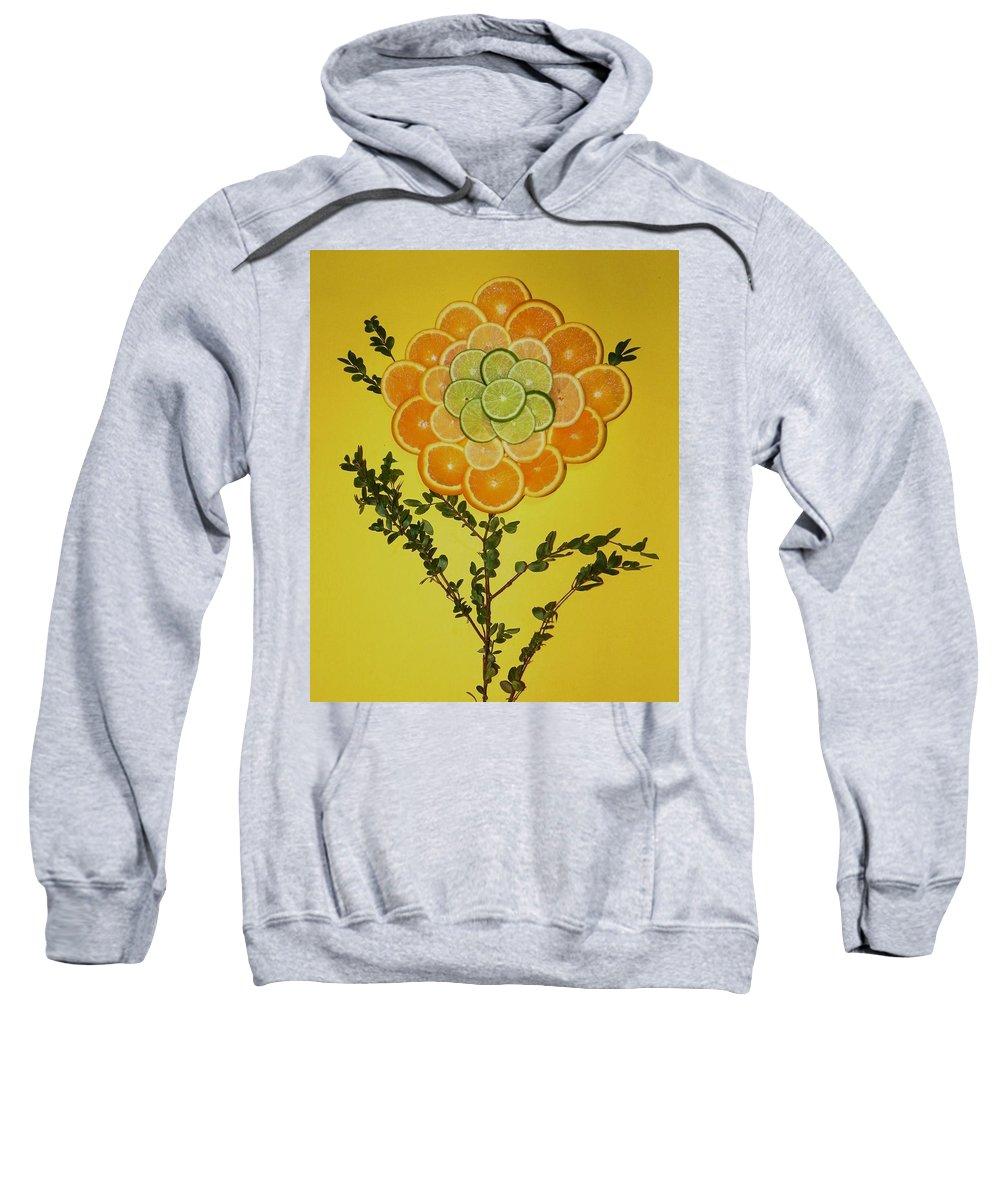 Flower Sweatshirt featuring the photograph Citrus Fruit by Juanita Albert
