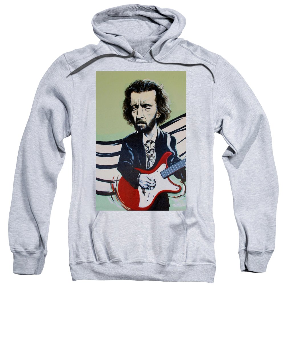 Eric Clapton Sweatshirt featuring the photograph Clapton by Rob Hans