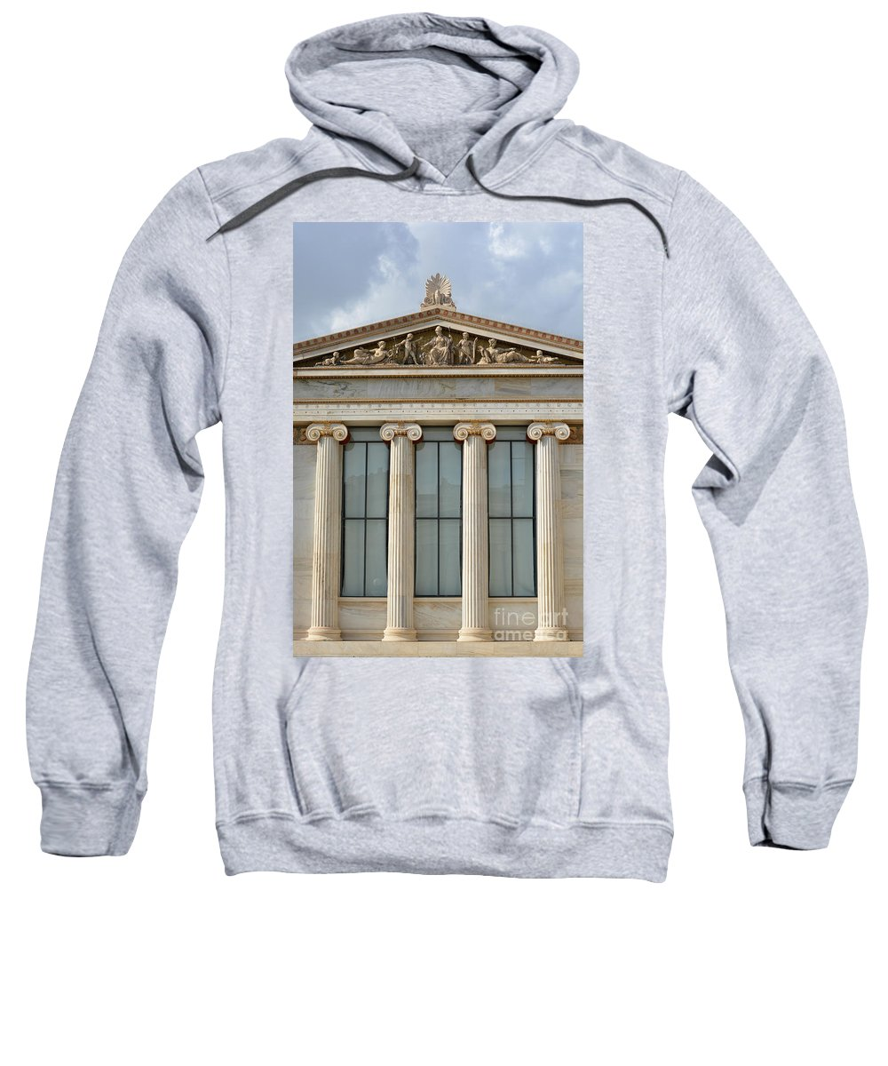 Greece Sweatshirt featuring the photograph Classical Greek by Grigorios Moraitis