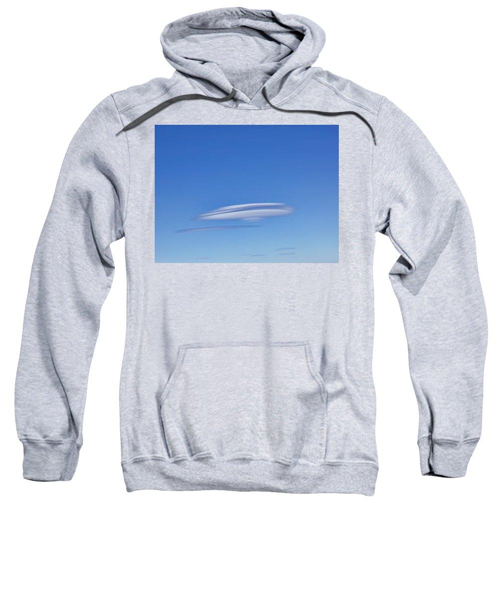 Cloud Sweatshirt featuring the photograph Clouds 280 by Dawn Eshelman