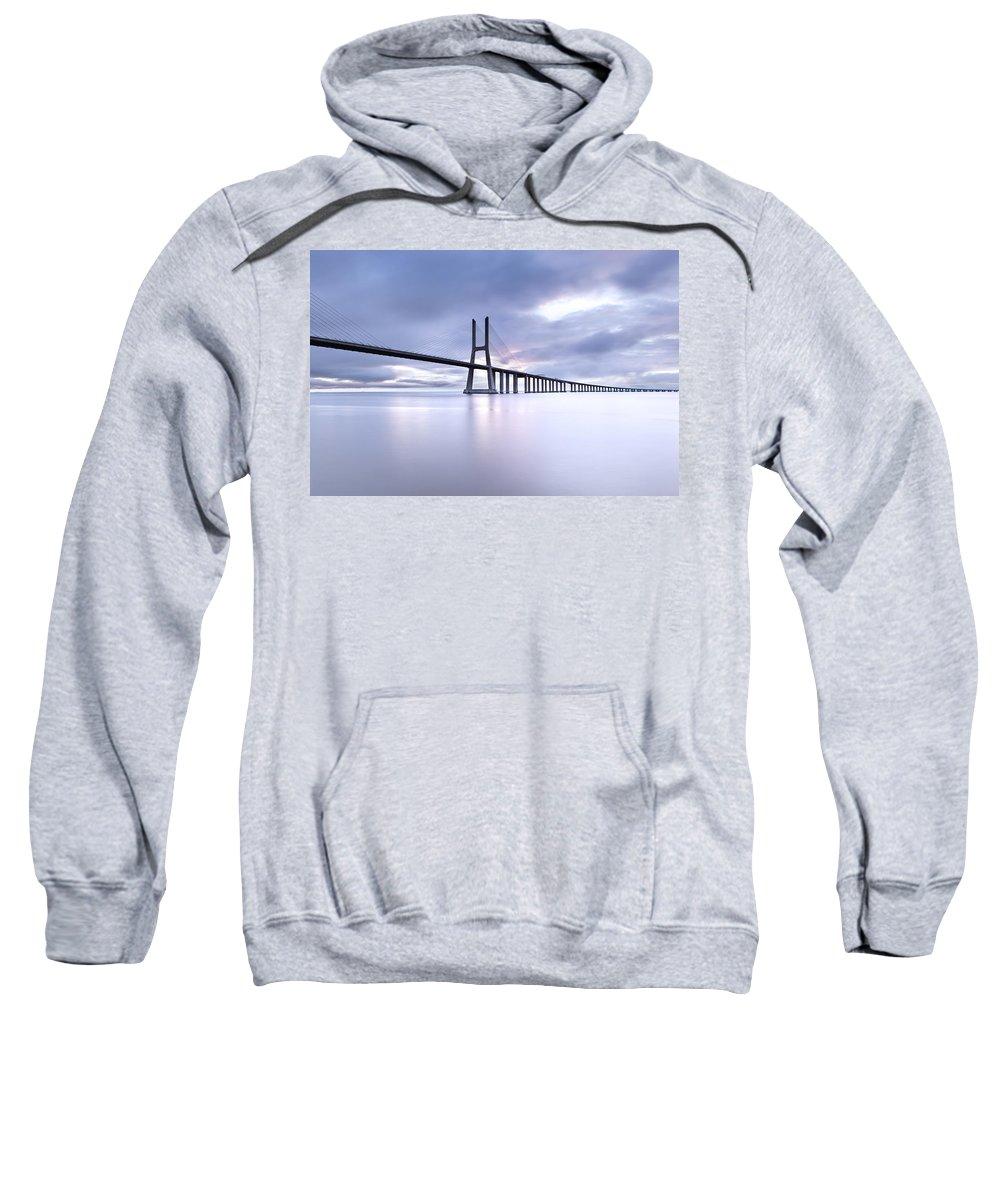 Vasco Da Gama Bridge Hooded Sweatshirts T-Shirts