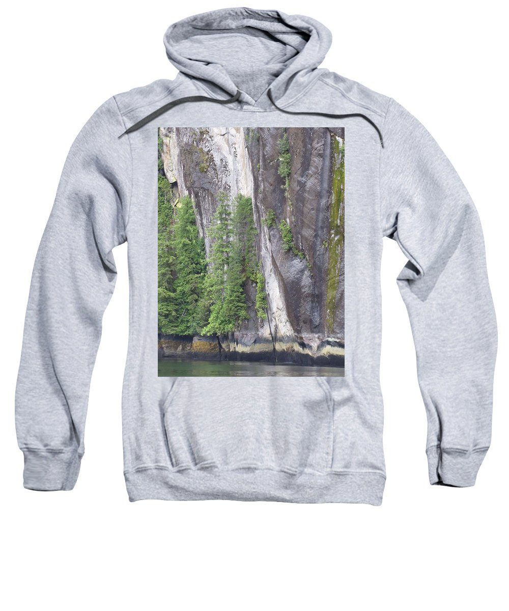 Landscape Sweatshirt featuring the photograph Colors Of Alaska - More From Misty Fjords by Natalie Rotman Cote