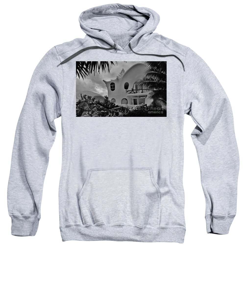 Keri West Sweatshirt featuring the photograph Conch Casa by Keri West