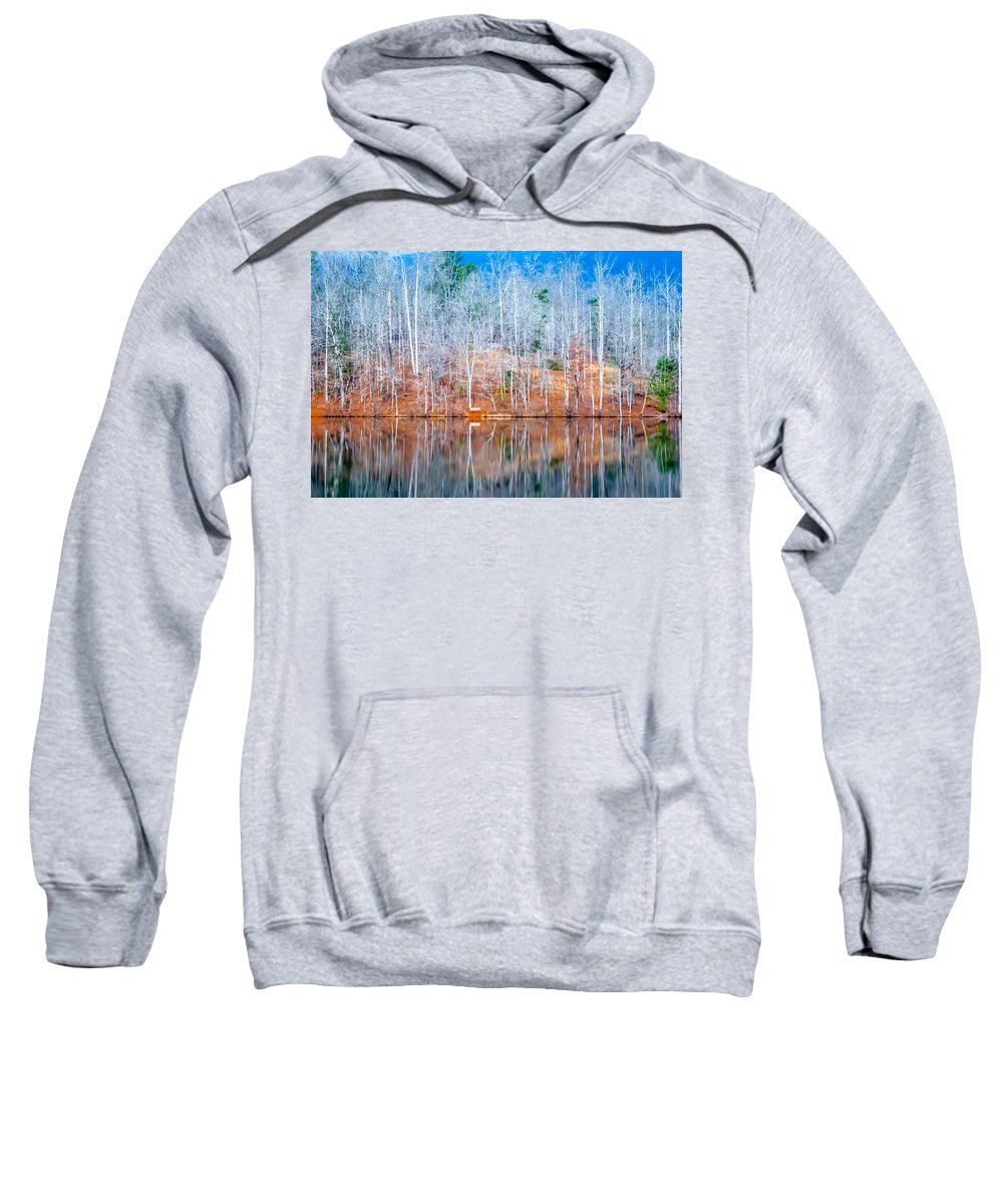 Optical Playground By Mp Ray Sweatshirt featuring the photograph Cool Change by Optical Playground By MP Ray