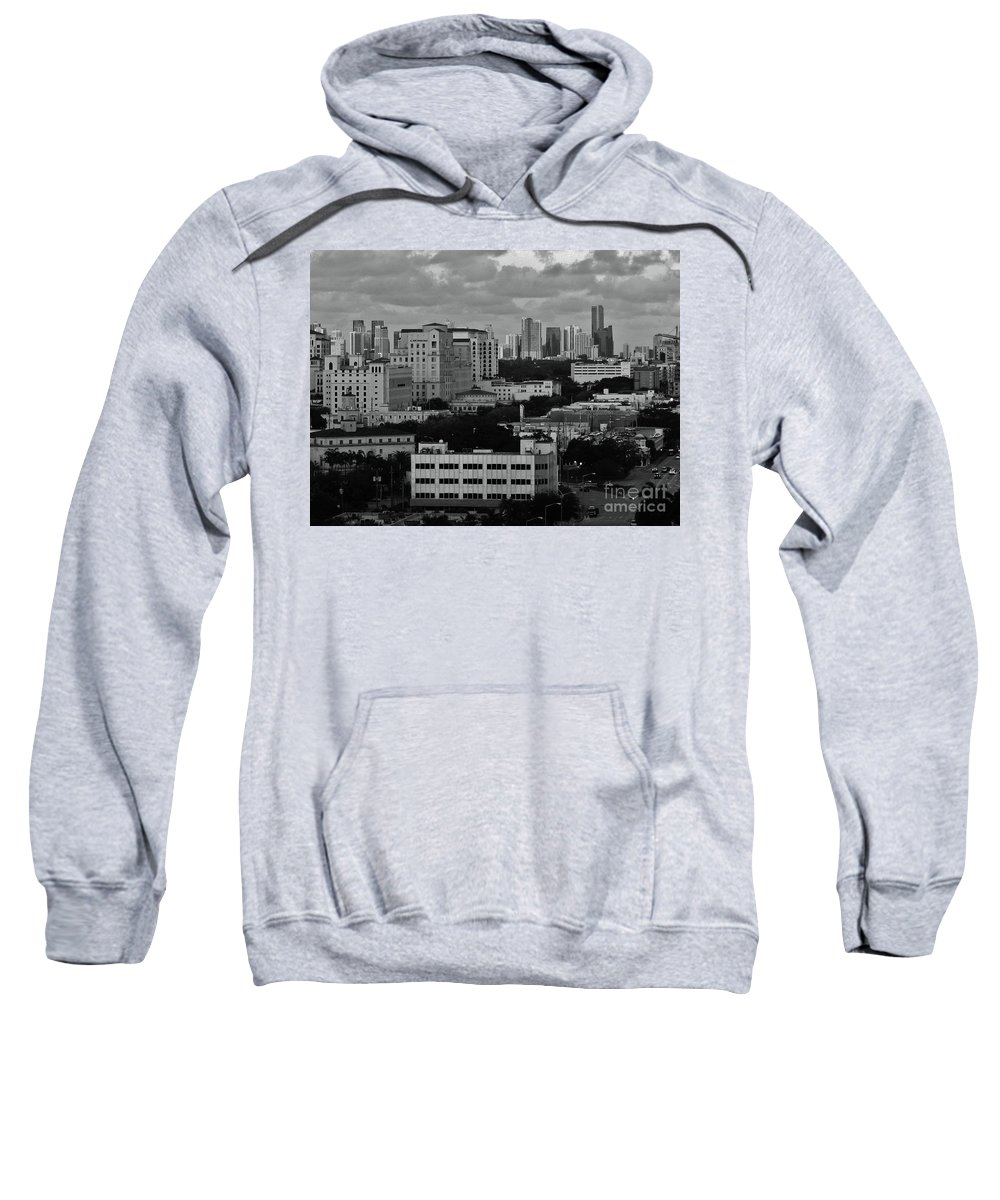 Kerisart Sweatshirt featuring the photograph Coral Gables by Keri West