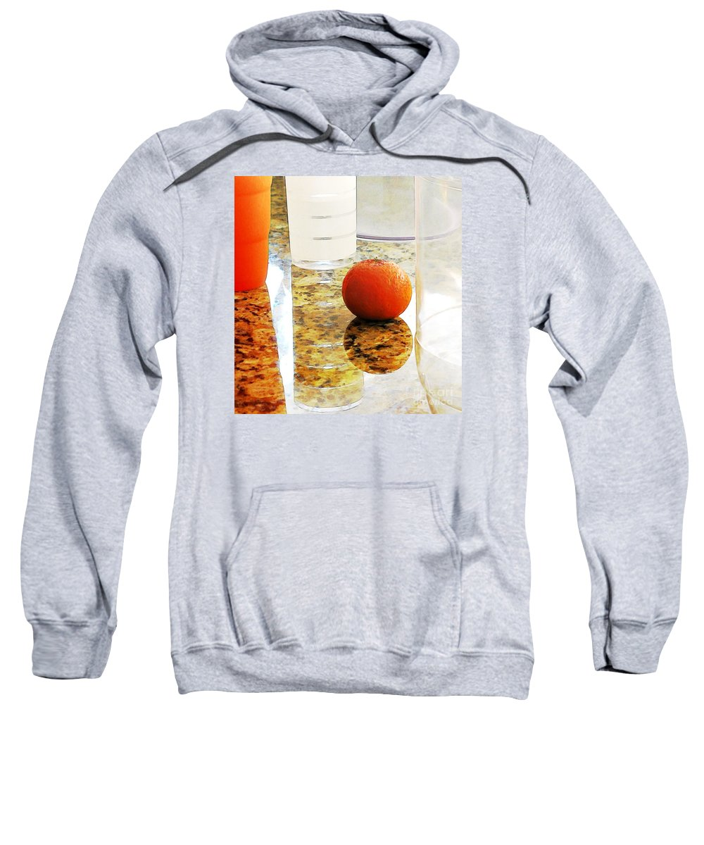 Kitchen Sweatshirt featuring the photograph Countertop Still Life by Sarah Loft