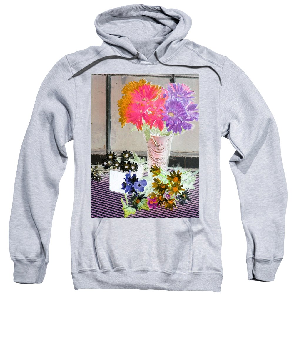 Flower Sweatshirt featuring the photograph Country Comfort - Photopower 504 by Pamela Critchlow