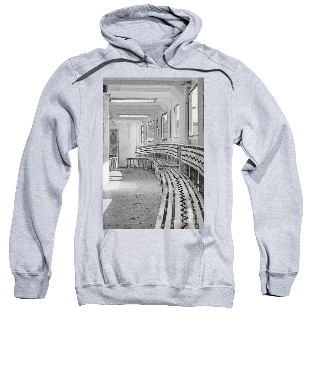 Ferry Sweatshirt featuring the photograph Cowes Floating Bridge by Linsey Williams