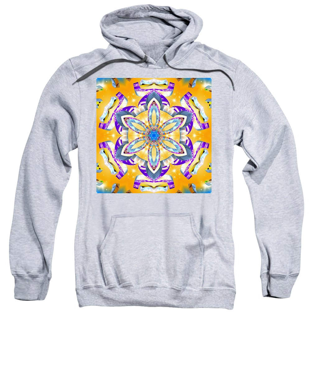 Dawning Reality Sweatshirt featuring the digital art Dawning Reality by Derek Gedney