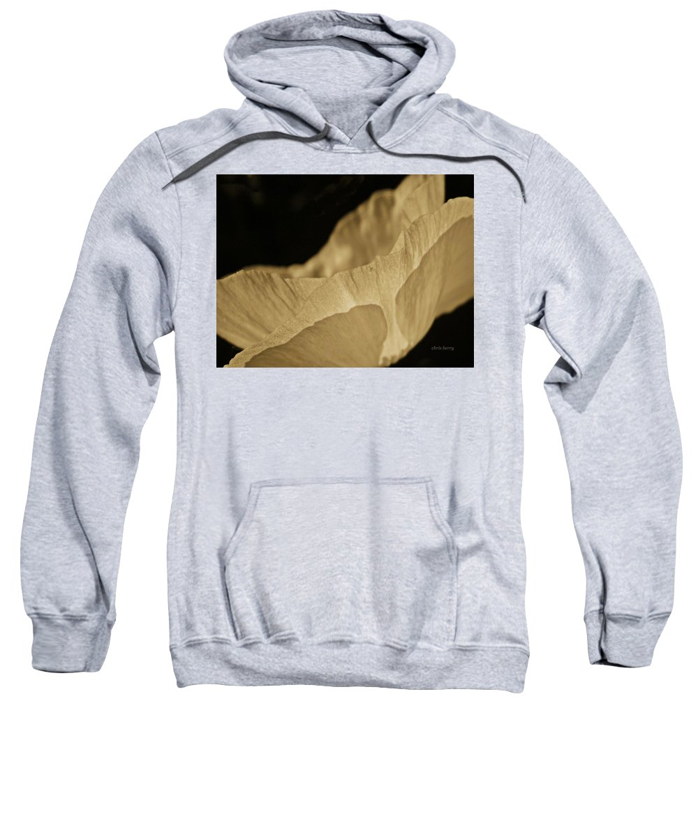 Poppy Sweatshirt featuring the photograph Daybreak by Chris Berry