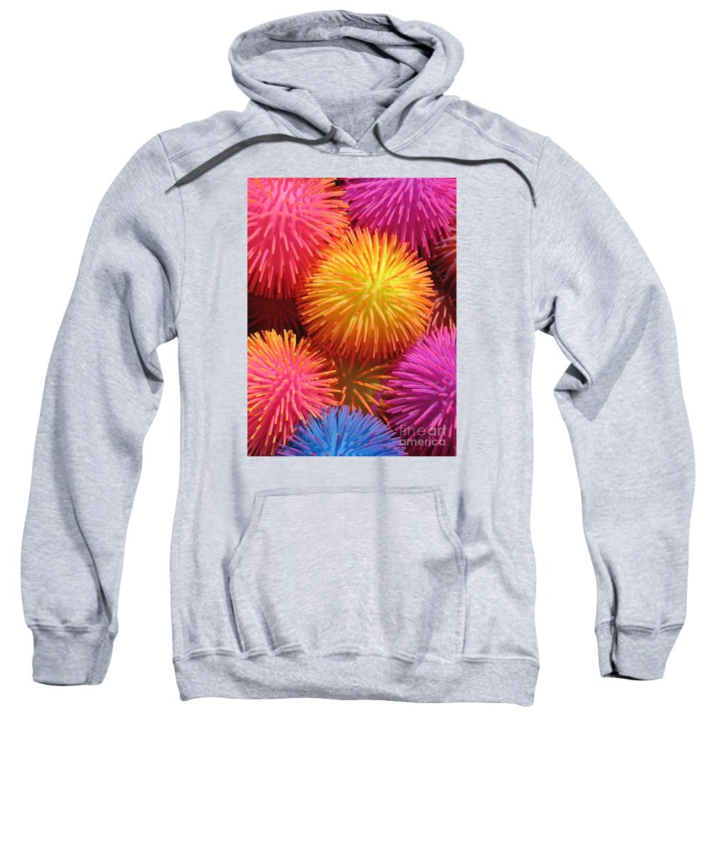 Abstract Sweatshirt featuring the photograph Dazzlers by Ann Horn