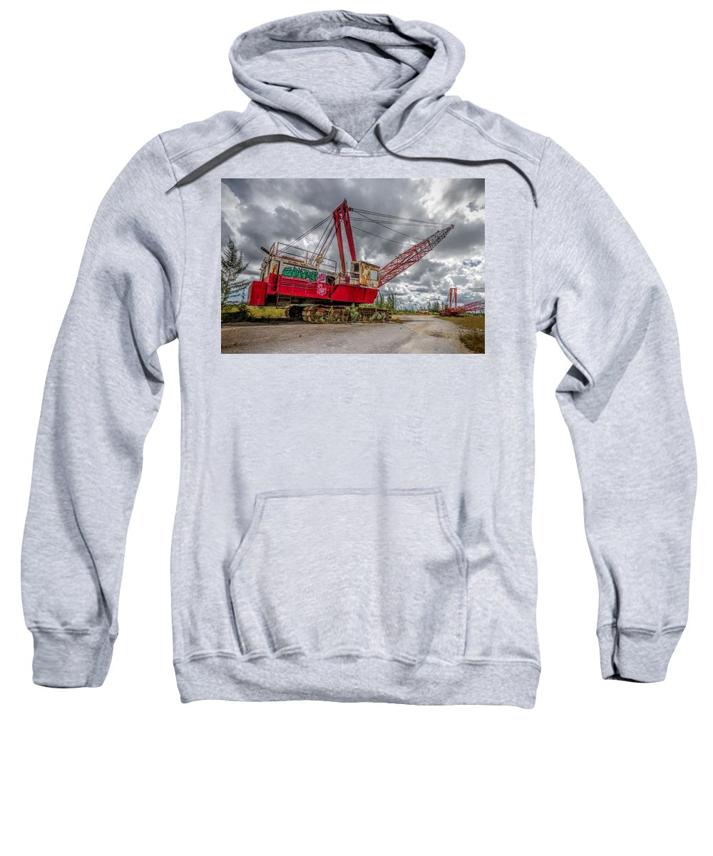 Old Sweatshirt featuring the photograph Decayed Glory - 1 by Rudy Umans
