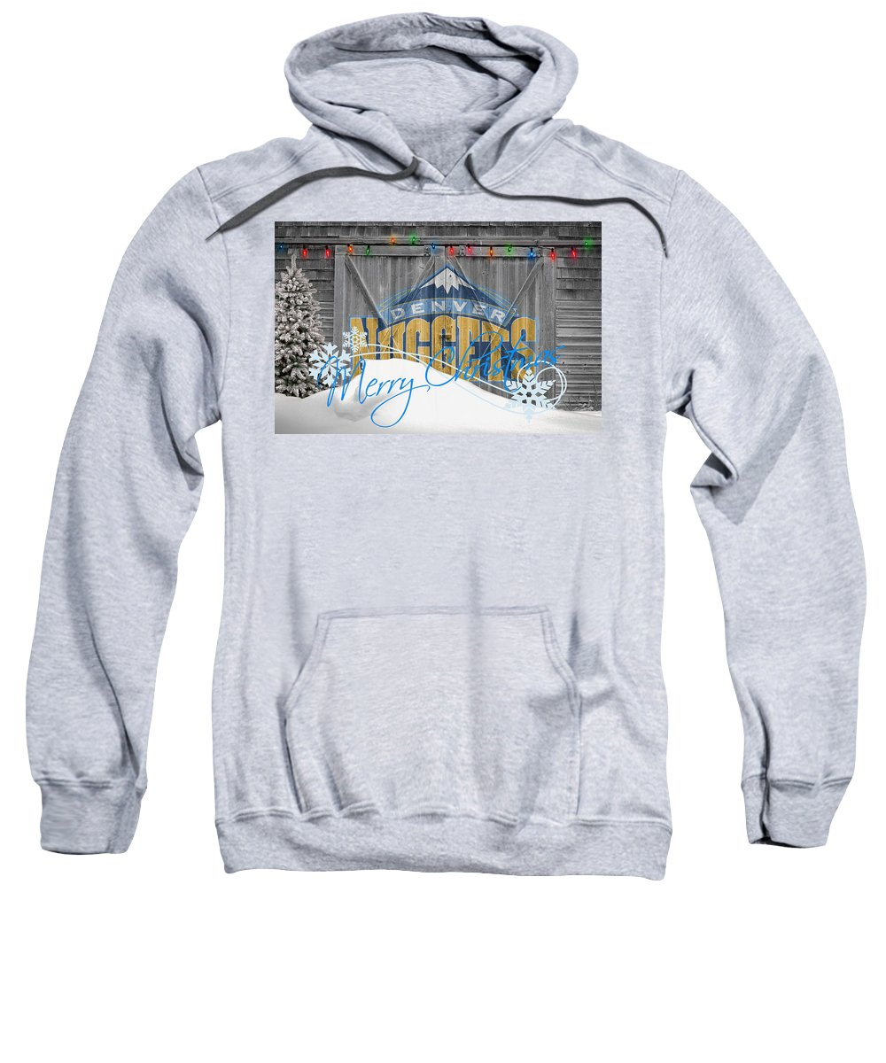 Nuggets Sweatshirt featuring the photograph Denver Nuggets by Joe Hamilton